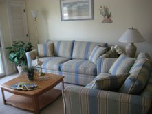 Wildwood NJ Rental, Seapointe Village Pinnacle 200 Living Room